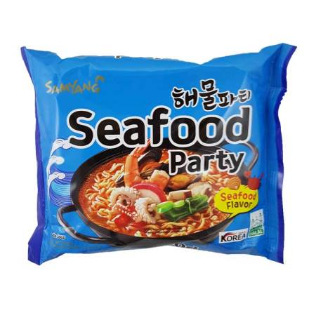 Seafood Party 125g Samyang