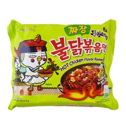 Hot Chicken Ramen Jjajang 140g Samyang
