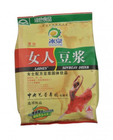 Ladies Soy Bean Drink 400 g Bing Quan