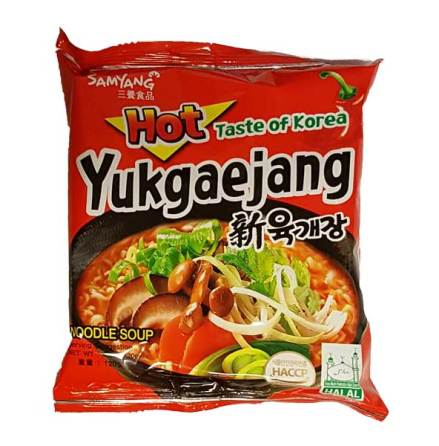 Samyang Noodles Yukgaejang