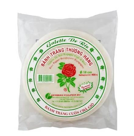 Rice Paper 18 cm 400g Rose Brand