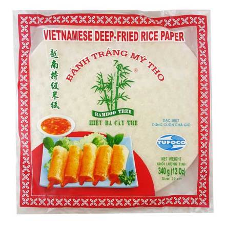 Rice Paper 22cm 340g Bamboo Tree (Deep-fry)
