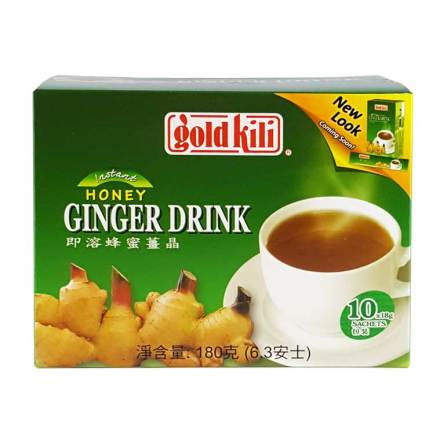 Instant Honey Ginger Drink 10x18g Gold Kili