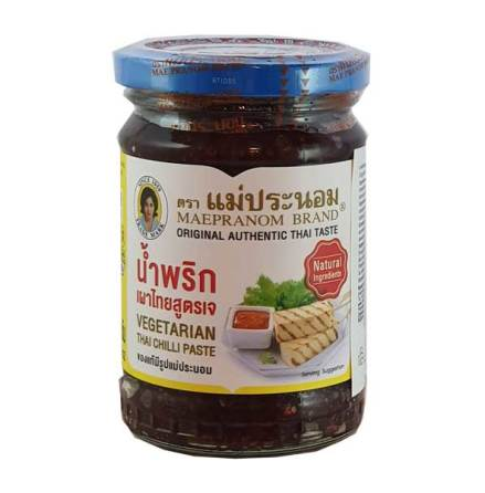 Thai Chili Paste Vegetarian 228g Maepranom