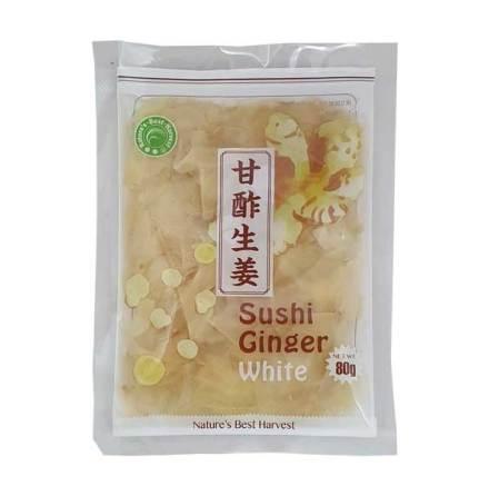 Sushi Ginger White 80g Nature´s Best Harvest