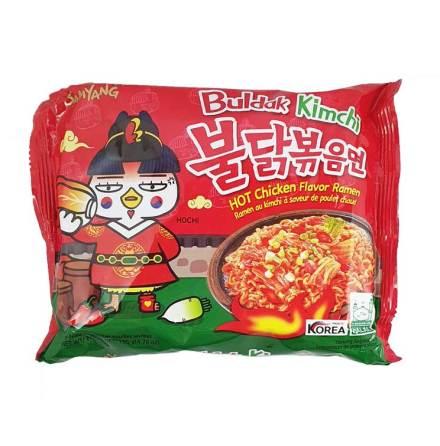 Hot Chicken Ramen Kimchi 135g Samyang