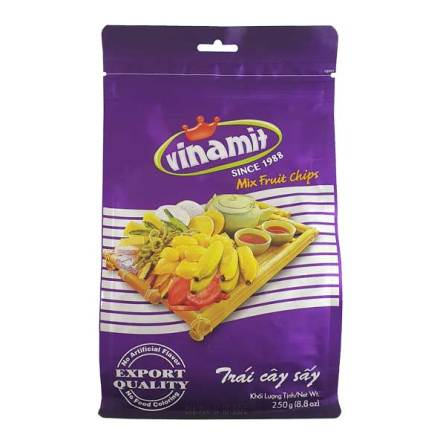 Mixed Fruit Chips 250 g Vinamit