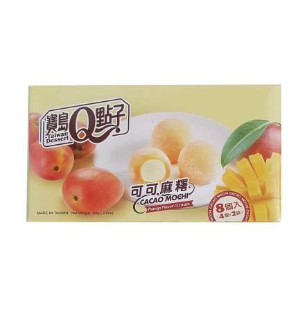 Cacao Mochi Mango Flavour 80g He Fong