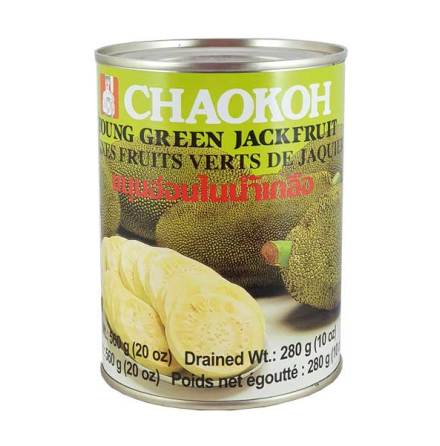 Young Green Jackfruit 560 g Chaokoh