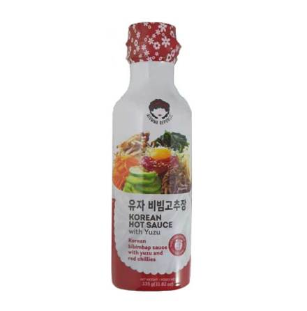 Hot Sauce with Yuzu 335g Ajumma Republic