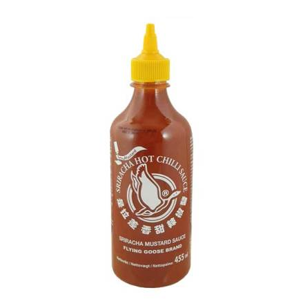 Sriracha Chili Mustard Sauce 455ml Flying Goose