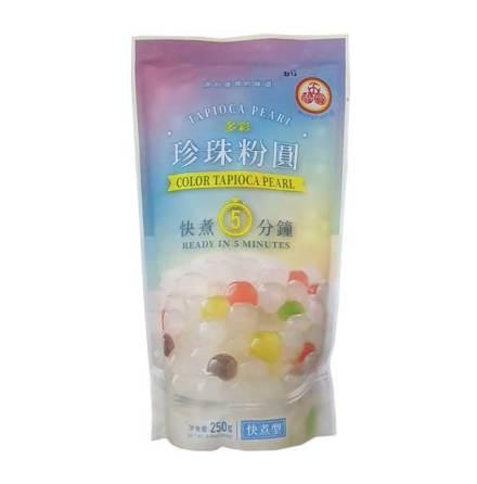 Tapioca Pearl Color 250 g WuFuYuan