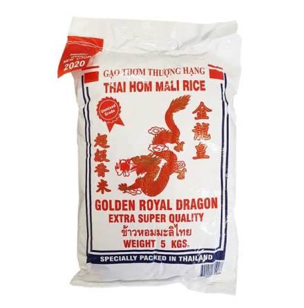 Jasmine Rice 5 kg Golden Royal Dragon
