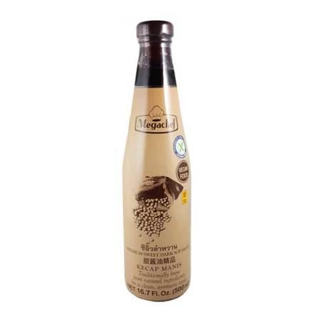 Kecap Manis Premium Sweet Dark Soy Sauce 500ml Megachef