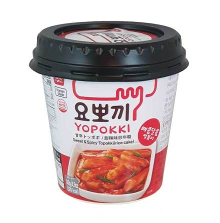 Cup Rice Cake Sweet & Spicy 140 g Yopokki