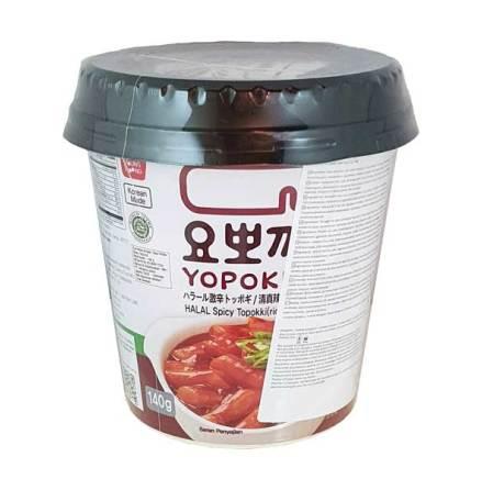 Cup Rice Cake Halal Spicy 140 g Yopokki