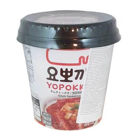 Cup Rice Cake Kimchi 140g Yopokki