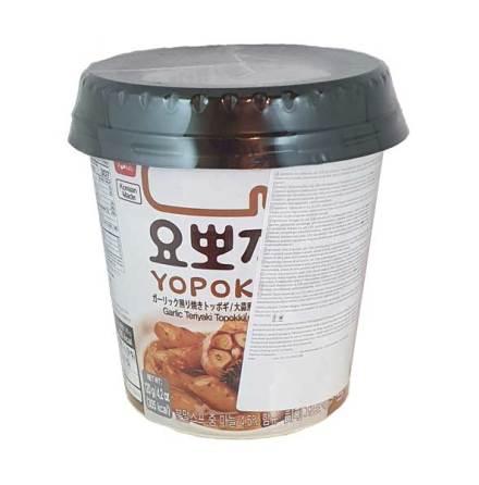 Cup Rice Cake Garlic Teriyaki 140 g Yopokki