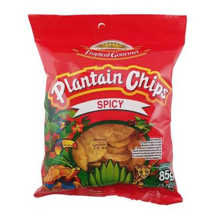 Banana Chips Spicy 85g Tropic Gourmet
