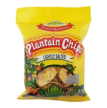 Banana Chips Lightly Salted 85g Tropic Gourmet