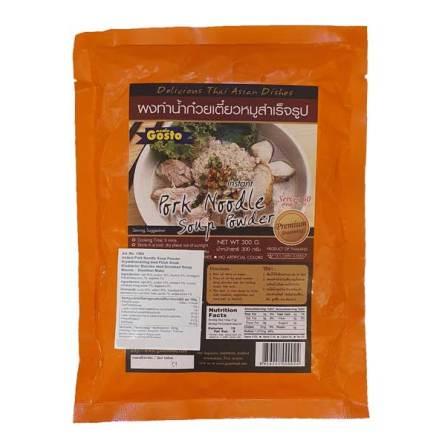 Gosto Pork Noodle Soup Powder