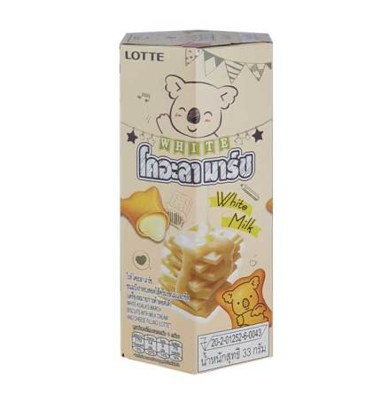 Koala's March Milk Cream & Cheese Filling 33g Lotte