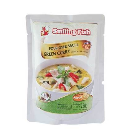 Green Curry 250g Smiling Fish