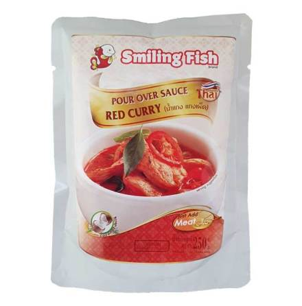 Red Curry 250g Smiling Fish
