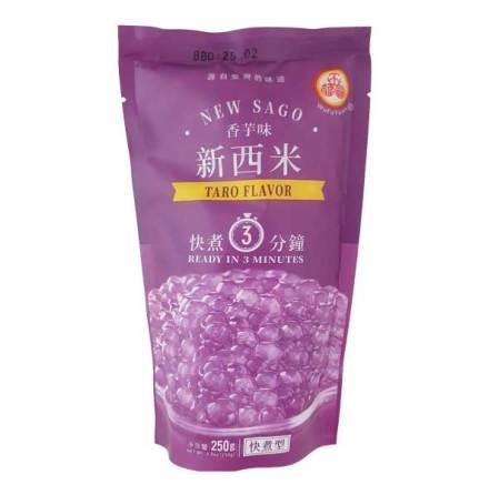 Tapioca Pearl Taro Flavor 250 g WuFuYuan