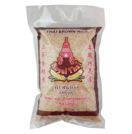 Brown Jasmine Rice 1kg Royal Thai