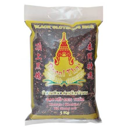 Black Glutinous Rice 1 kg Royal Thai