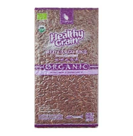 Red Cargo Rice Organic 1 kg Sawat-D