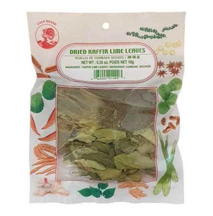 Dried Kaffir Lime Leaves 10g Cock