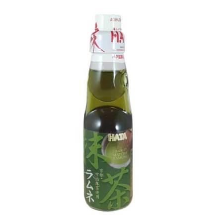 Ramune Green Tea 200 ml Hatakosen