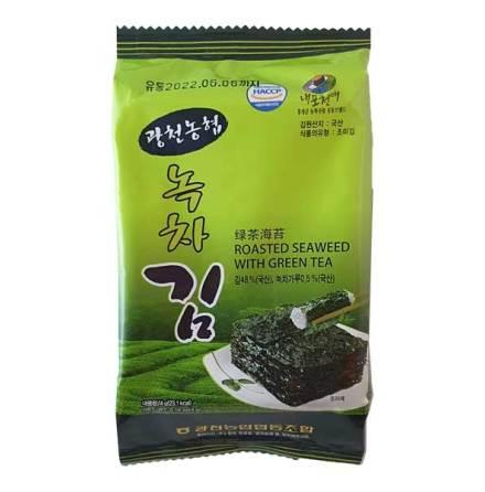Roasted Seaweed with Green Tea 4g NH