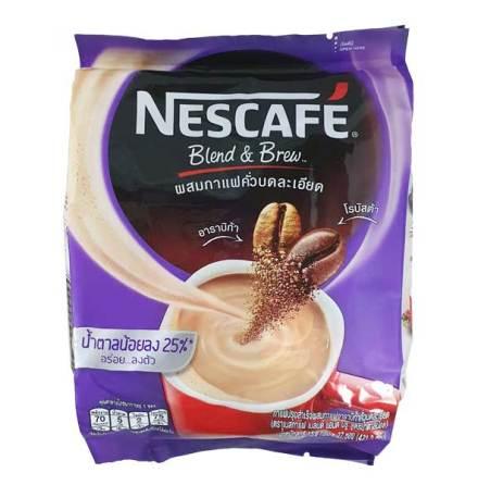 Coffee Mix 3 in 1 Less Sugar (Purple) 421g Nescafé