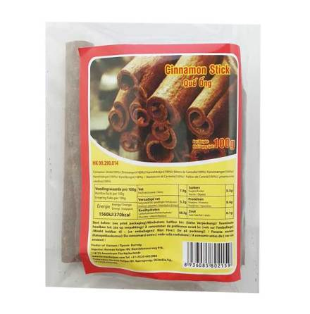 Cinnamon Stick Que Ong 100g
