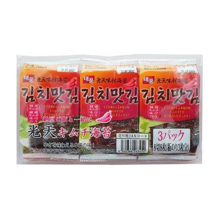 Roasted Seaweed with Kimchi Flavor 4g NH